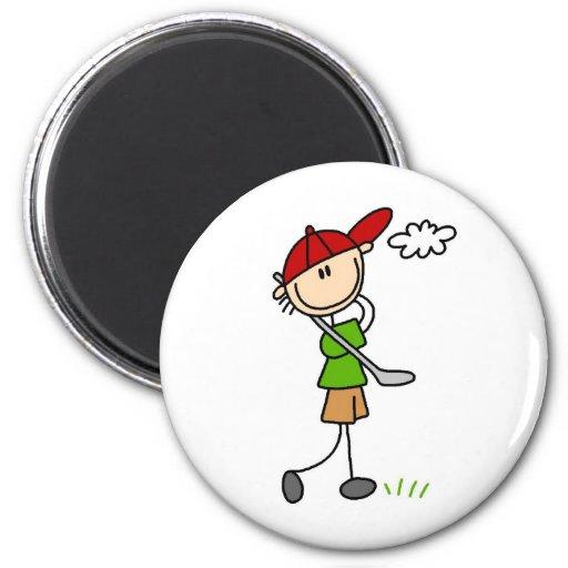 Imán de la actitud del golf
