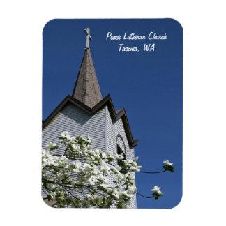 Imán de la aguja de la iglesia