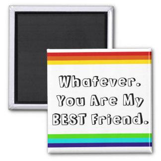 imán de la amistad del arco iris