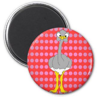 Imán de la avestruz