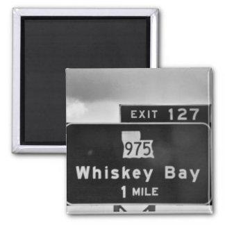 Imán de la bahía del whisky