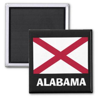 Imán de la bandera de Alabama*