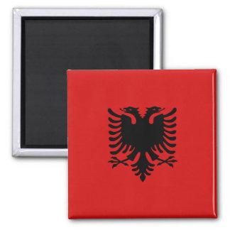 Imán de la bandera de Albania
