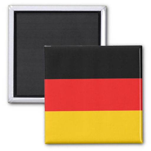 Imán de la bandera de Alemania