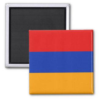 Imán de la bandera de Armenia