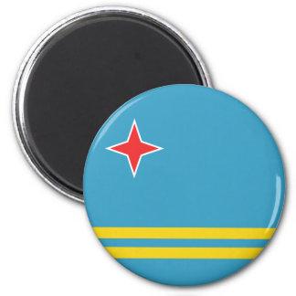 Imán de la bandera de Aruba