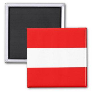 Imán de la bandera de Austria