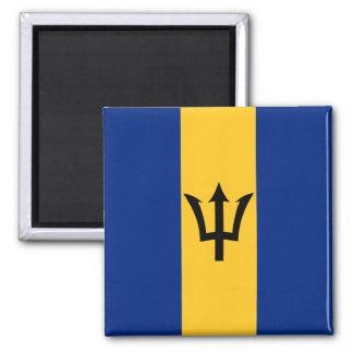 Imán de la bandera de Barbados