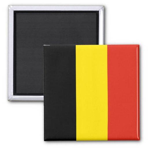 Imán de la bandera de Bélgica