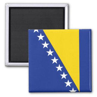 Imán de la bandera de Bosnia y Hercegovina