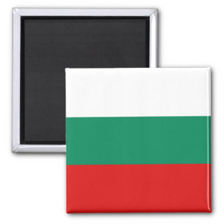 Imán de la bandera de Bulgaria