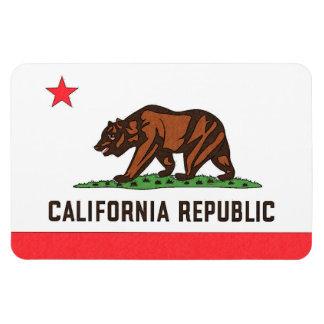 Imán de la BANDERA de CALIFORNIA