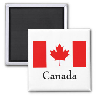 Imán de la bandera de Canadá