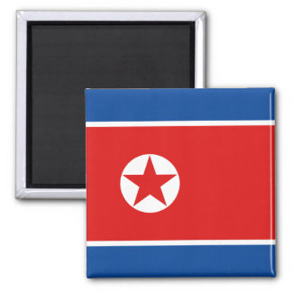 Imán de la bandera de Corea del Norte