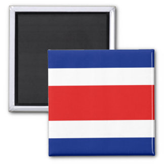 Imán de la bandera de Costa Rica