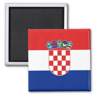 Imán de la bandera de Croacia