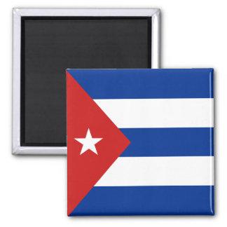 Imán de la bandera de Cuba