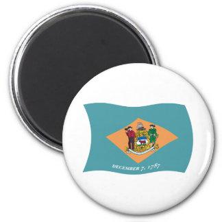 Imán de la bandera de Delaware
