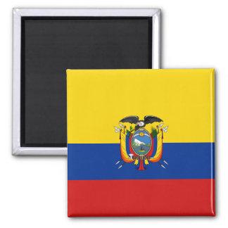 Imán de la bandera de Ecuador
