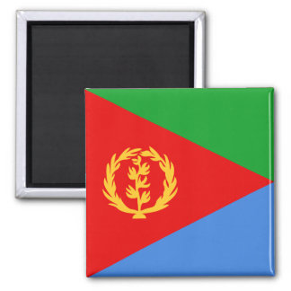 Imán de la bandera de Eritrea