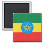 Imán de la bandera de Etiopía