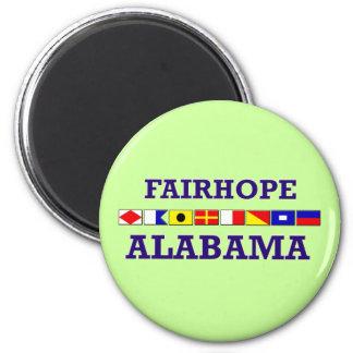 Imán de la bandera de Fairhope
