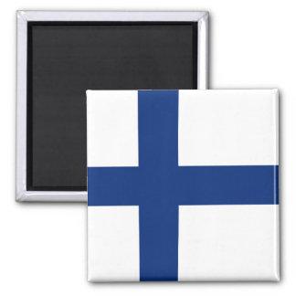 Imán de la bandera de Finlandia