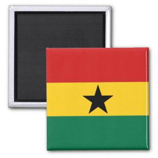 Imán de la bandera de Ghana