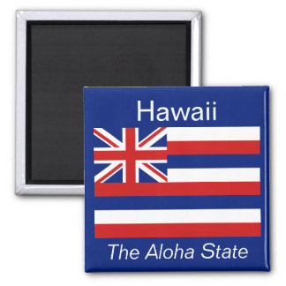 Imán de la bandera de Hawaii