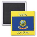 Imán de la bandera de Idaho