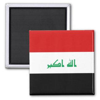 Imán de la bandera de Iraq