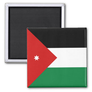 Imán de la bandera de Jordania