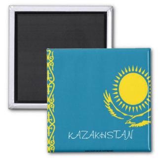 Imán de la bandera de Kazajistán