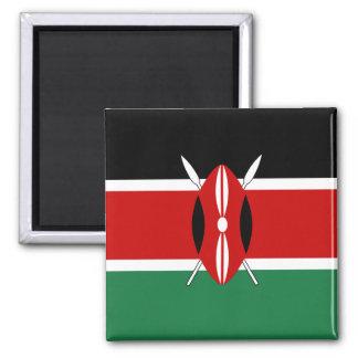 Imán de la bandera de Kenia