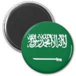 Imán de la bandera de la Arabia Saudita