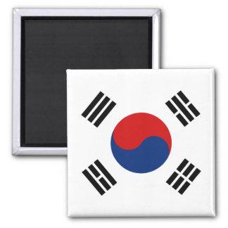 Imán de la bandera de la Corea del Sur