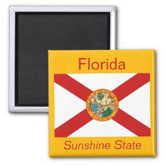 Imán de la bandera de la Florida