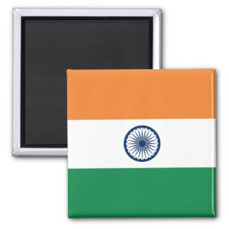 Imán de la bandera de la India
