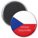 Imán de la bandera de la República Checa
