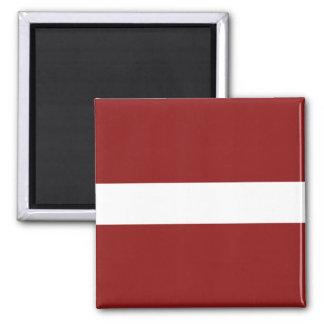 Imán de la bandera de Letonia