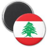 Imán de la bandera de Líbano