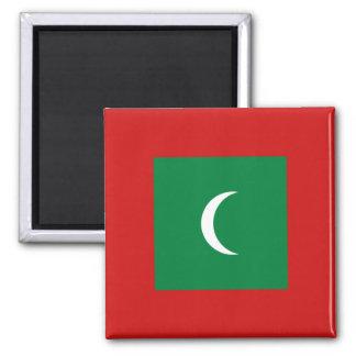 Imán de la bandera de Maldivas