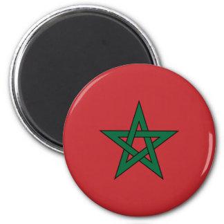 Imán de la bandera de Marruecos