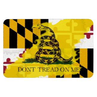 Imán de la bandera de Maryland Gadsden