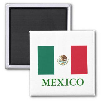 Imán de la bandera de México