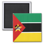 Imán de la bandera de Mozambique