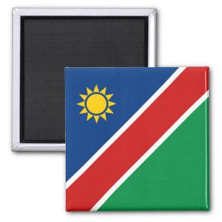 Imán de la bandera de Namibia