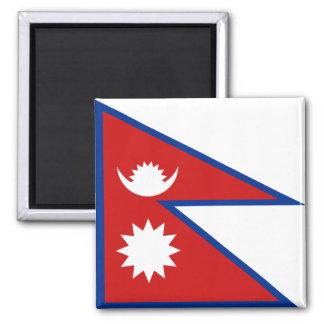 Imán de la bandera de Nepal