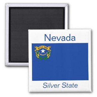 Imán de la bandera de Nevada