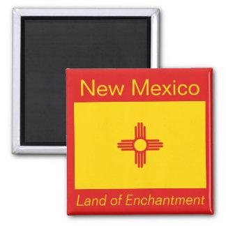 Imán de la bandera de New México